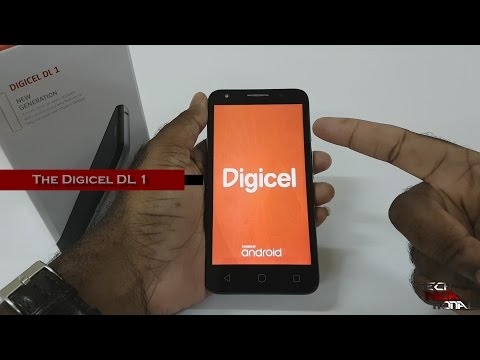 Digicel DL1 aka Alcatel Pixi 4 (5) Review