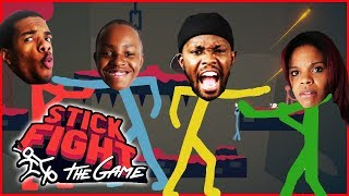 ALL OUT BRAWL! INTENSE FAMILY VIOLENCE! - Stick Fight Gameplay