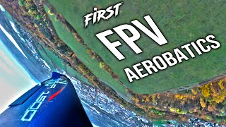 First FPV aerobatics - Alpha 1500 4K 60 FPS