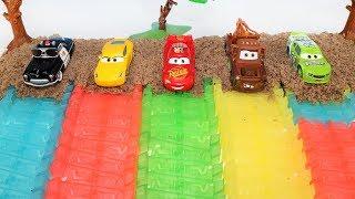 Aprender Colores y Numeros para Niños en Español! Coches Camion y Carros Disney Cars