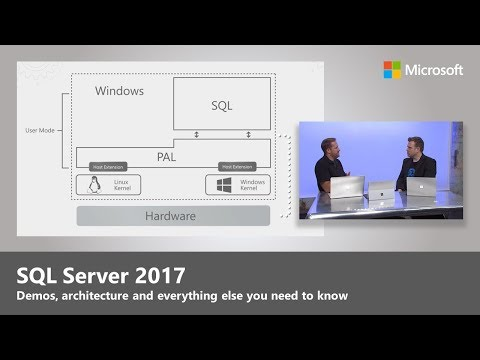 Microsoft's New SQL Server 2017 Is Out And Available On AWS