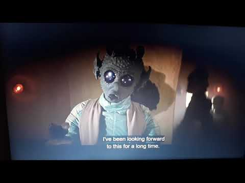 MAKLUNKY (Han and Greedo shoot at the same time!) Star Wars 4KSE on Disney Plus