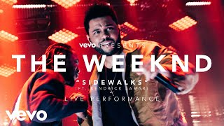 The Weeknd - Sidewalks, an exclusive live performance for Vevo. The Weeknd performed for fans at the LA Hangar Studios on December 17, 2016, highlighting mus...