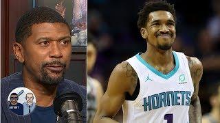 Was Michael Jordan slapping Malik Monk on the head a 'tap of endearment?' | Jalen & Jacoby