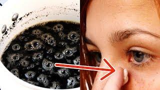 她在眼睛上塗抹咖啡渣,2分鐘後她將無法被辨認出
