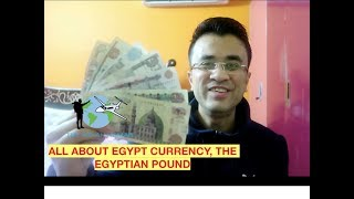 Egypt Money and Currency Travel Vlog in Hindi - All about Egypt Money Exchange