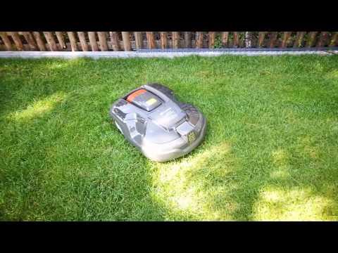 Der Automower 310 ist optimal für kleine und mittlere Gartenflächen