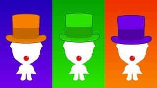 ¿Cuál es el Color? Elige el Gorro de Plim Plim #02   A Jugar