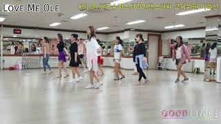 Love Me Ole Line Dance   Beginner(Demo)