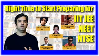WHEN TO START PREPARING FOR IIT JEE | NEET | NTSE | by Sachin Sir (with Important Tips & Tricks)
