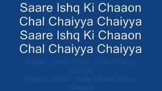 Chaiyya Chaiyya Lyrics