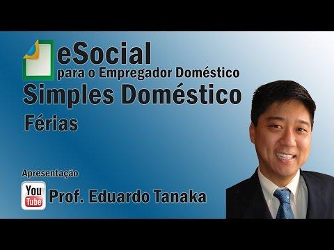 eSocial - Empregador Doméstico - Férias