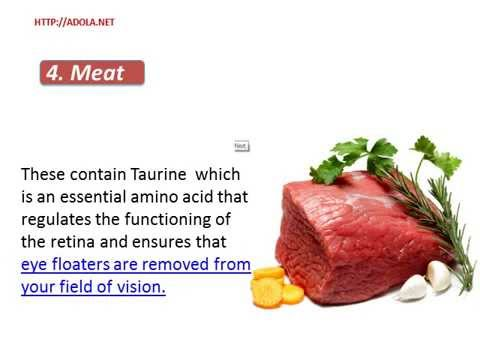 Diet For Eye Floaters - The Essential Nutrition To Remove