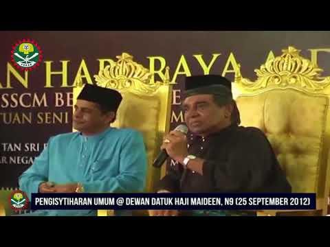 PSSCM Bersama Tokoh : Allahyarham Tan Sri Omardin Mauju