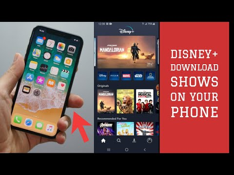 Disney Plus- Download Disney+ Shows Movies to Your Phone