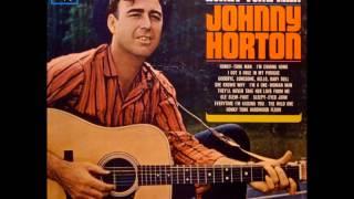 """Johnny Horton """"Honky Tonk Man"""" (1963). Track A1: """"Honky Tonk Man"""""""