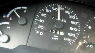 Ford Probe KL ZE 0 100 6 seconds yes baby its true Video