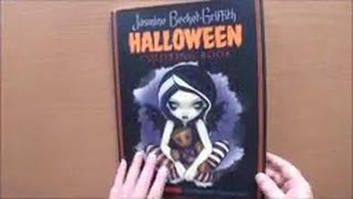 Halloween A Spine-Tingling Adventure By Jasmine Becket-Griffith Colouring Book Flipthrough