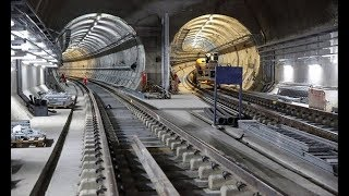 Incredible facts about the Crossrail project