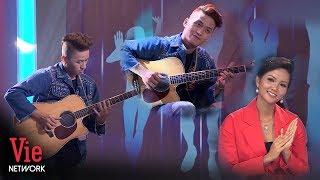 H'Hen Nie mê mẩn trước màn độc tấu guitar Lạc Trôi siêu đỉnh | Người Bí Ẩn