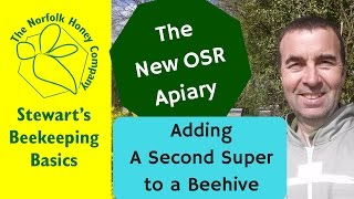 Adding a Second Super to a Beehive #Beekeeping Basics - The Norfolk Honey Co.