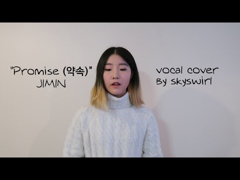 Jimin (지민) Of BTS - Promise (약속) Vocal Cover
