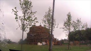 Pallet Mountain Bonfire - Lawn Care - Window Cleaning - Ireland