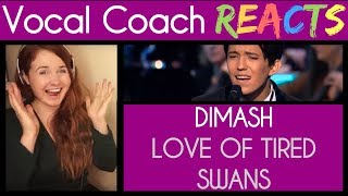 Vocal Coach Reacts to Dimash Kudaibergen - The Love of Tired Swans