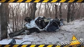 Двое мужчин погибли в ДТП на трассе близ Алматы