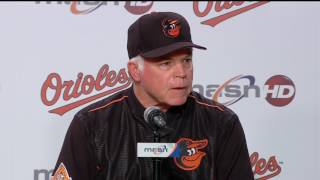 Buck Showalter on Orioles' schedule