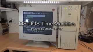 MS-DOS Time-machine: Hardware build, Pentium 166, Awe32, Doom, Jill of the jungle