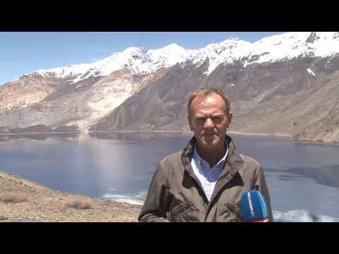 President Tusk visit Sarez lake, Darvoz, Tajikistan