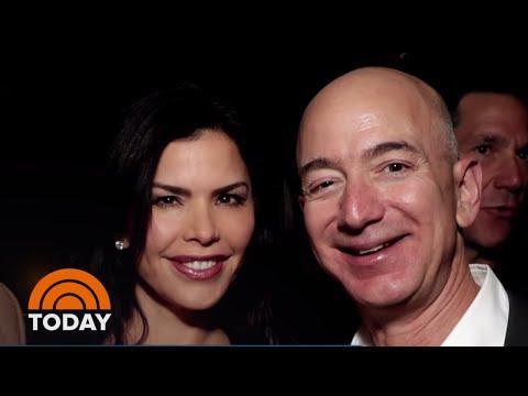 Jeff Bezos Reportedly Dating Former News Anchor Lauren Sanchez   TODAY
