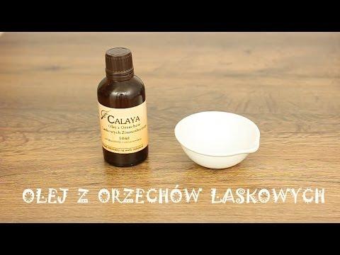 Maska włosy olej migdałowy i brandy