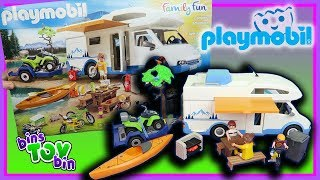 Let's Go Camping! Playmobil Camping Adventure