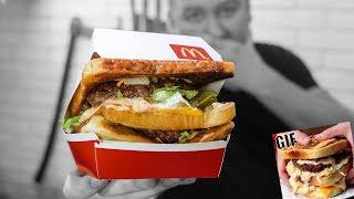 Проверка рецепта: Бутерброд БИГ МАК (Гифка)