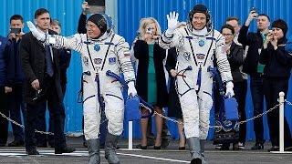 На МКС прибыли два новых члена экспедиции