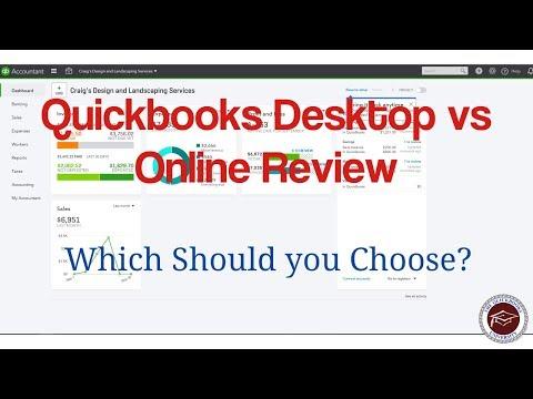 Quickbooks Desktop vs Online Review - Which Should You Choose?