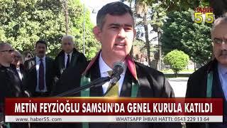 TÜRKİYE BAROLAR BİRLİĞİ'NİN GENEL KURULU SAMSUN'DA YAPILDI