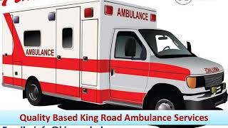 Get Best Emergency Ambulance Service in Patna and Gaya by King