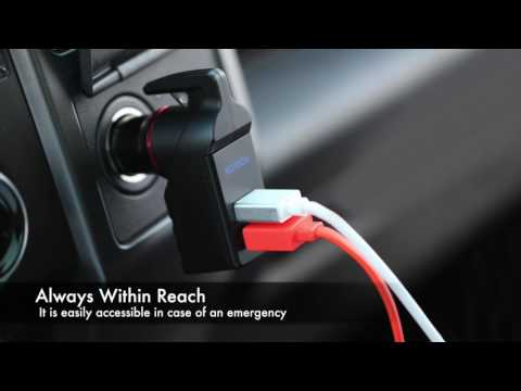 Car Charger Emergency Escape Tool
