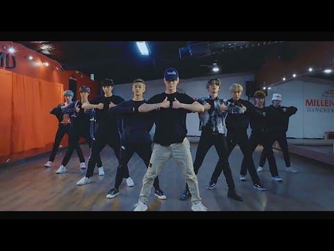 [NCT 127 - Superhuman] dance practice mirrored
