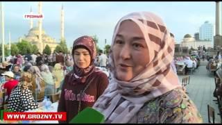 В Грозном состоялся самый массовый ифтар в истории России