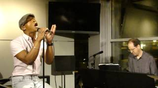 "Marque Lynche sings ""I Can't Make You Love Me"""