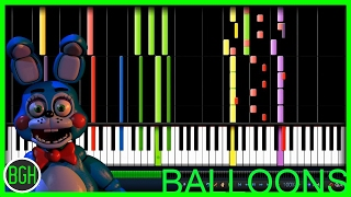 IMPOSSIBLE REMIX - Five Nights at Freddy's 3 'Balloons' (MandoPony)