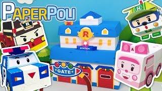 #Theme song - Paper POLI season 1 | Paper POLI [PETOZ] | Robocar Poli Special