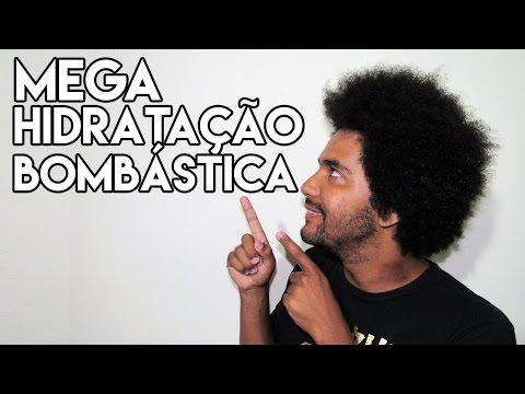 MEGA HIDRATAÇÃO BOMBÁSTICA CRESPO CACHEADO MASCULINO