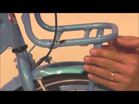 Aufbau Montage Video Volare Popal Highlander Vogue Altec Hollandrad