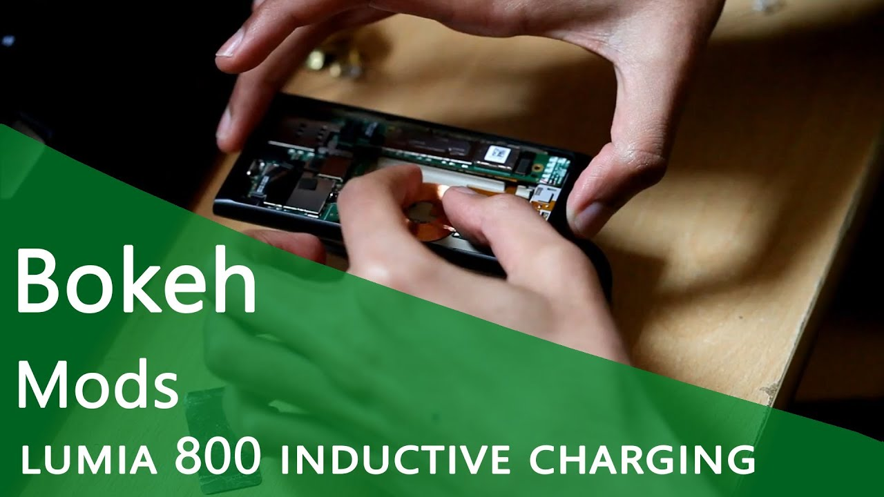 Hack A Lumia 800 For Inductive Charging