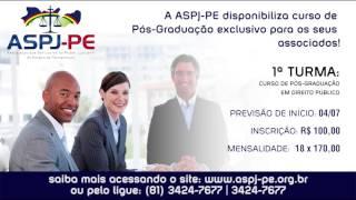 Pós-Graduação ASPJ-PE